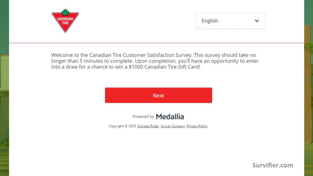 welcome to tellcdntire survey